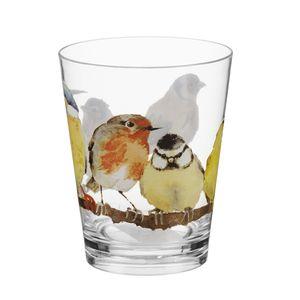 Garden Birds Acrylic Tumbler