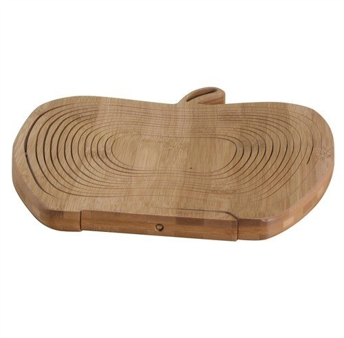 Danesco collapsible bamboo fruit basket