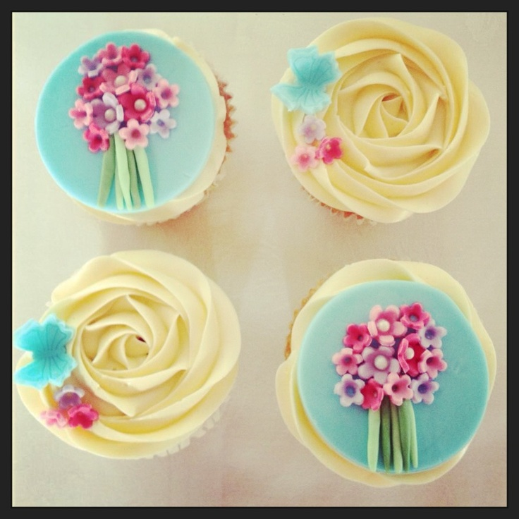Mother's Day cupcakes ❤❤❤