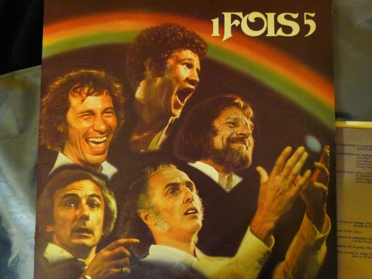 Album: 1 fois 5 Artiste: Gilles Vigneault, Claude Léveillée, Jean-Pierre Ferland, Yvon Deschamps, Robert Charlebois Étiquette: Kébec-Disc, KD-923-924 Année: 1976