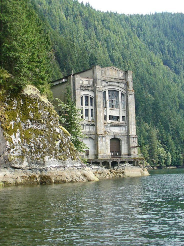 Buntzen Lake power station 1903-1972