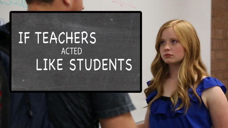 What if teachers and students changed roles? Filmed at Alta High, Sandy Utah.