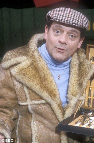 Nursey and Son custom made a sheepskin coat for actor David Jason, who played Del Boy Trotter