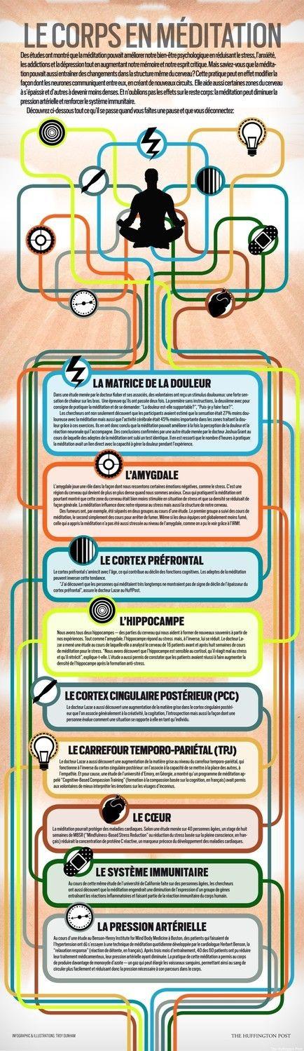 La meilleure INFOGRAPHIE sur la méditation de pleine conscience - Meditation-Pleine conscience-Nantes-Mindfulness