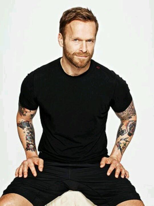 LOVE Bob Harper. LOVE his tattoos!