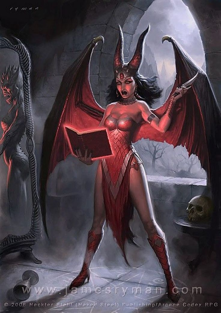 Naked female demon pictures