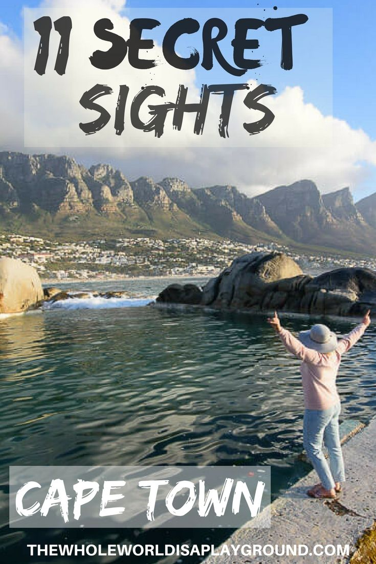 Cape Town, South Africa secret sights and hidden gems #CapeTown #southafrica #travel #sightseeing