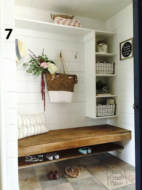 When hearing the term 'mudroom,' the first thing that comes to mind is, well, mud. One expects to find dirt coupled with an unorganized chaos of shoes, tools, and random items family members forgot to put away. However..