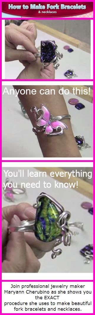 How To Make Fork Bracelets and Necklaces http://smb05.com/how-to-make-fork-bracelets-and-necklaces
