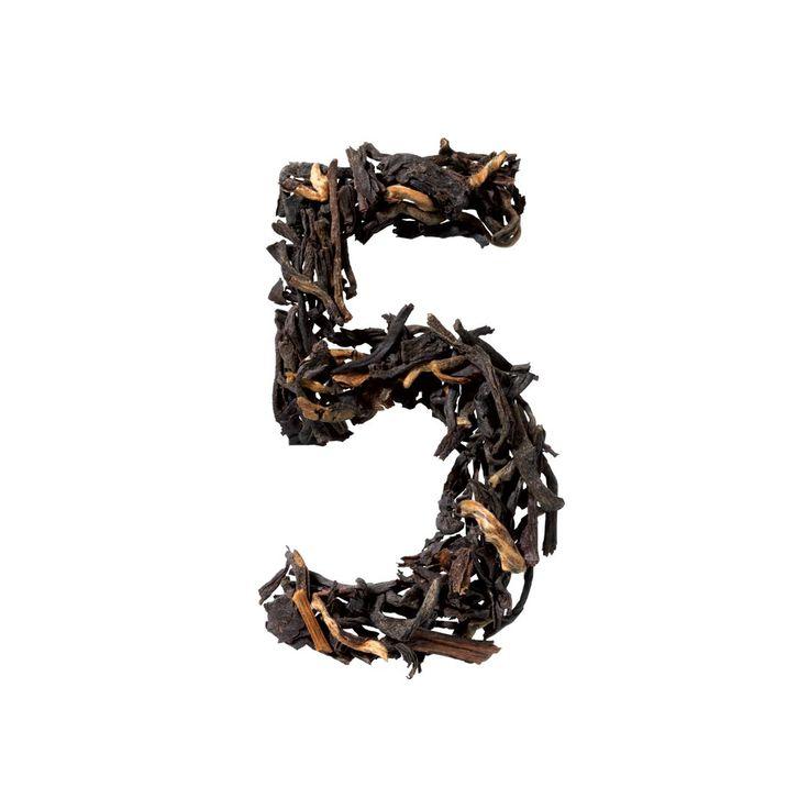 N° 5 – Organic Black Tea Earl Grey – Clasic – Just t