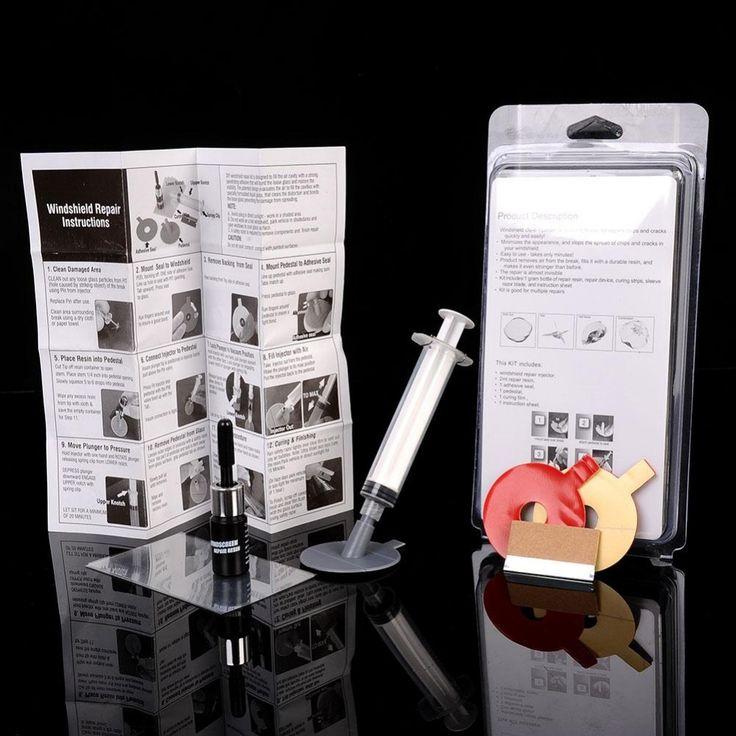 Auto Voorruit Glas Reparatie Gereedschap Voorruit Venster Polijsten Kit Chip Crack Ster Bullseye DIY Set Auto Accessorie bestseller