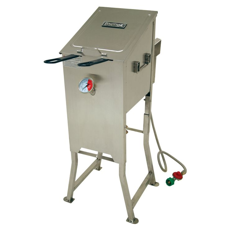 Bayou Classic 4 Gallon Bayou Fryer with 2 Stainless Baskets