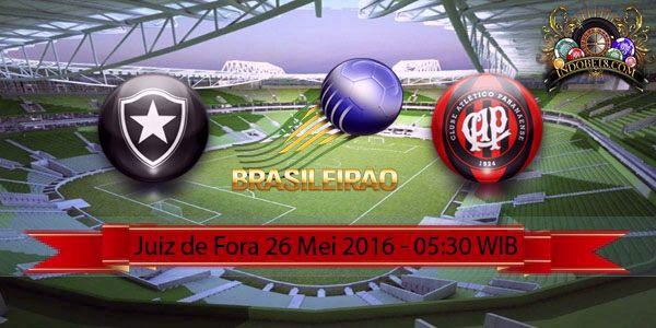 Prediksi Botafogo Vs Atletico Paranaense 26 Mei 2016 – Botafogo dan Atletico Paranaense sama-sama belum meraih kemenangan sejak pertandingan perdana mereka pada musim 2016 dan pertemuan diantara kedua tim adalah pertandingan ketiga yang akan berlangsung di Juiz de Fora.