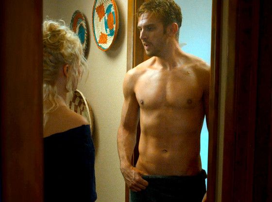 Ok, so I'm still bumming over the fact that Matthew Crawley was killed off of Downton Abbey, but if it was so that he could play a shirtless man in The Guilt, I'm willing to let it slide... ;)
