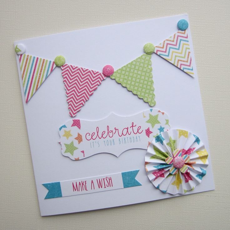 Card made by Kath Woods using the Celebrations collection.