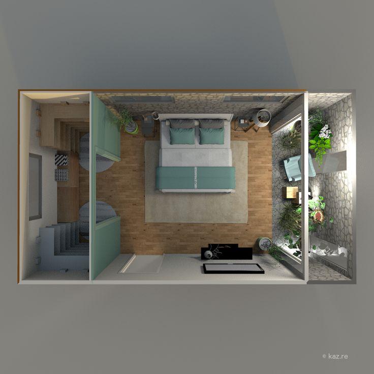 Best 25 plan suite parentale ideas on pinterest suite master robe extensi - Suite parentale design ...
