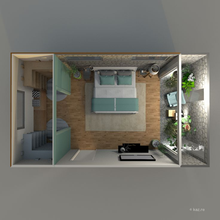1000 ideias sobre plan suite parentale no pinterest for Plan maison 3 chambres suite parentale