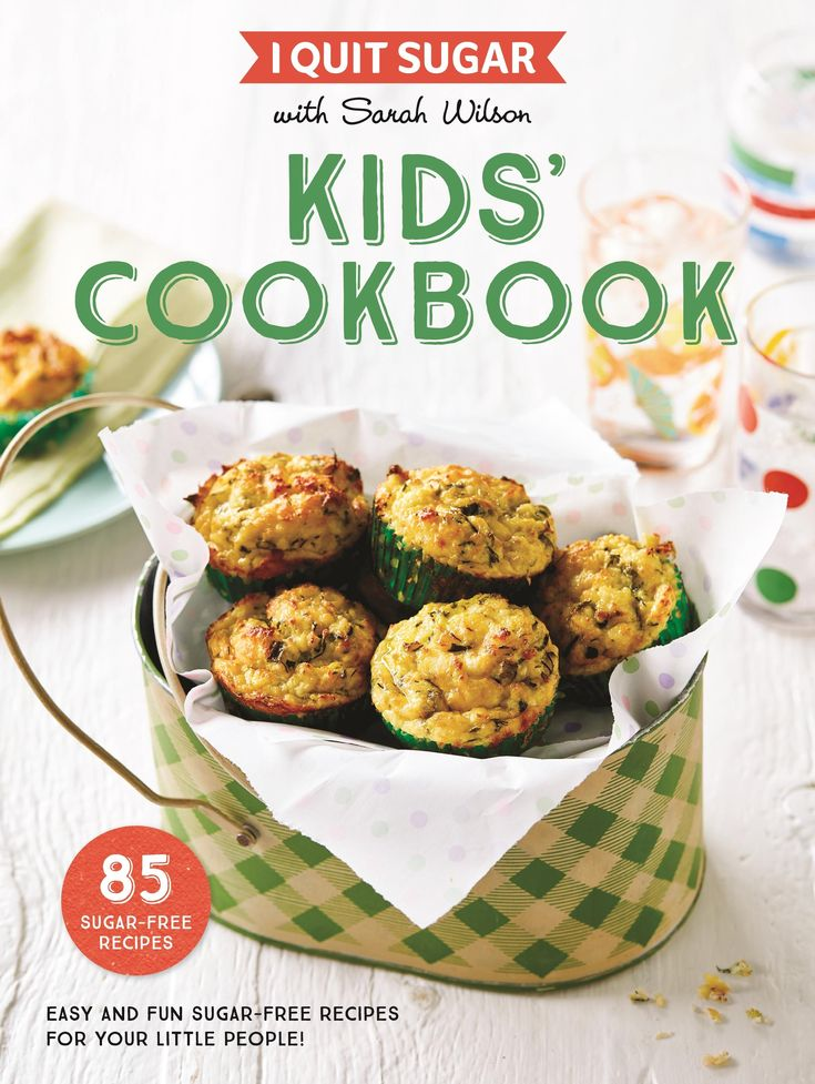 Easy and fun sugar-free recipes for your little people!