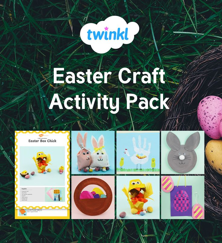 A Great Pack Containing Over 15 Easter Themed Crafts Each