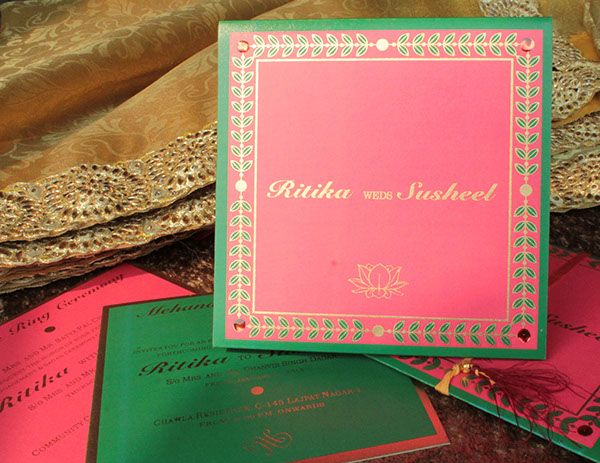 Hindu Wedding Invitation Card: 25+ Best Ideas About Indian Wedding Cards On Pinterest