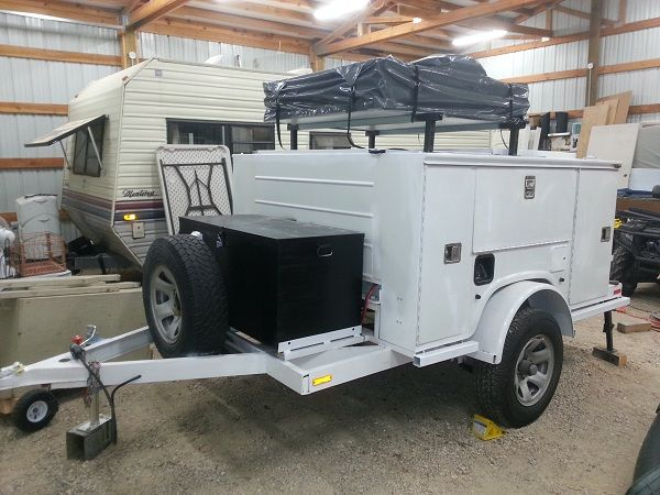 There are too many luxuries for just being a bug out trailer. Description from whenshtf.com. I searched for this on bing.com/images