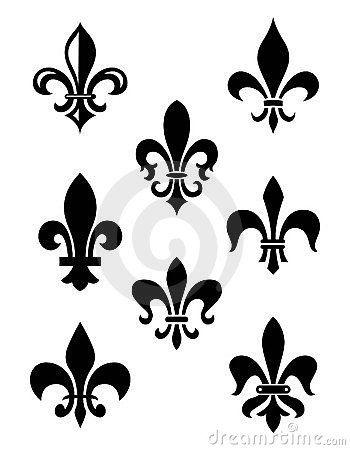 The fleur de lis is a symbol of the old french monarchy and modern culture: Ideas De Decoración, Imagen, Estilo, Diseño, Ideas Del Arte