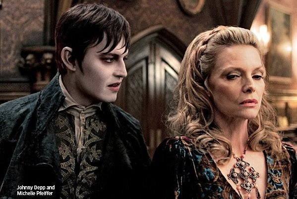 Depp/Peiffer radiantly beautiful in Tim Burton's forthcoming Dark Shadows