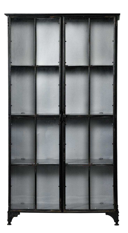 Downtown iron cabinet - hög från Nordal hos ConfidentLiving.se