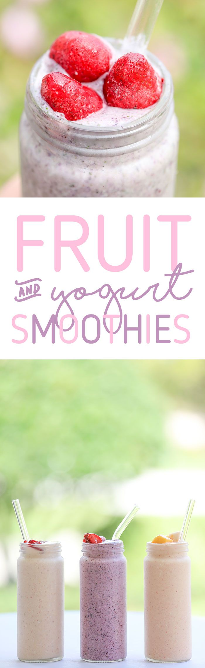 Fruit & Yogurt Smoothie Recipes! It's smoothie ingredient stock up time with this special sale at Publix. Click to get details. #ad