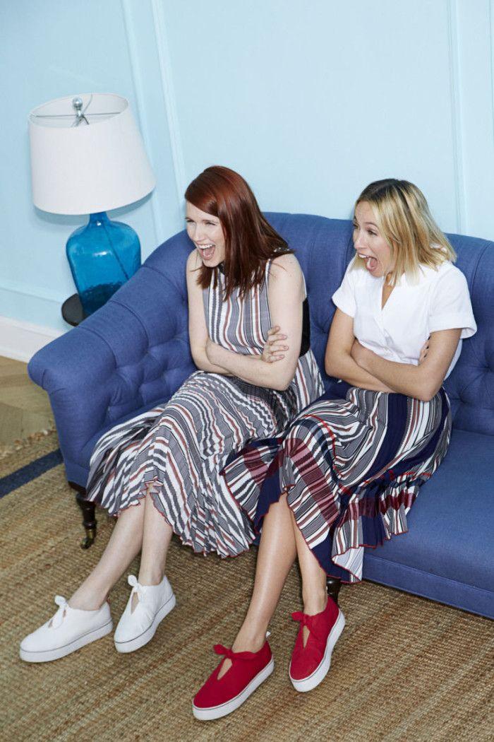LIKEtoKNOW.it x Misha Nonoo // #NYFW #CFDA #Fashion #StreetStyle #Style #Girls #GirlBoss #Entrepreneur #Friends #RoleModel #GirlPower #Dress #chic #ootd #photoshoot #ginger #blonde #Texan #Dallas #NYC #Partnership #ootd #AmberVenzBox