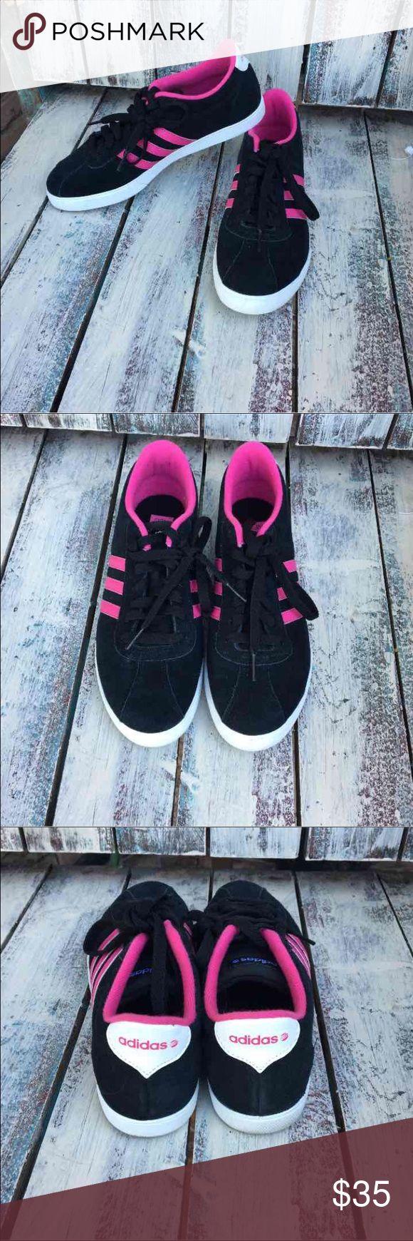 adidas neo weiss rosa