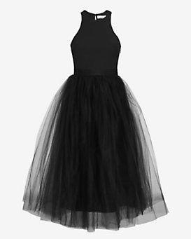Elizabeth and James Aneko Tulle Skirt Dress