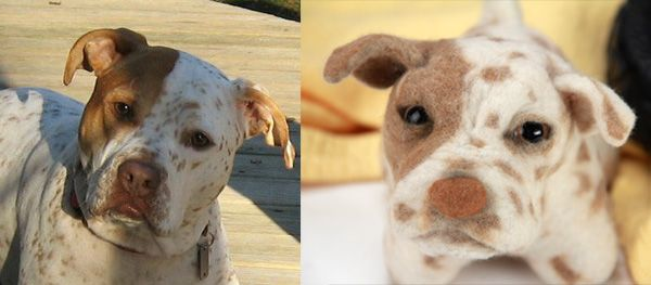 Send in a pic of your dog and you will get a stuffed animal that looks just like it! I need this!!! @Carmen Schaeffer