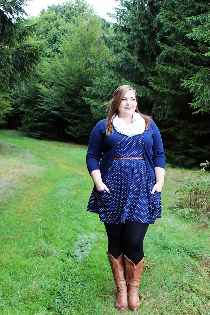 Hallo Herbst! {What I Wore} | Plus Size Autumn outfit with DUO boots