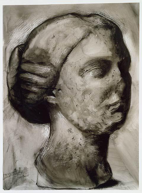 The Morgan Library & Museum Online Exhibitions - Jim Dine: The Glyptotek Drawings Online Exhibition - Glyptotek Drawing 6
