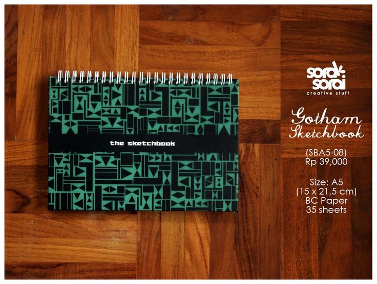 Gotham #notebook by #soraksorai  designed by @Niken Handamari