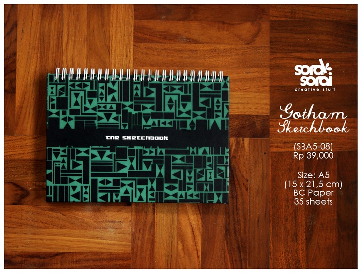 Gotham #notebook by #soraksorai  designed by @Niken Handamari