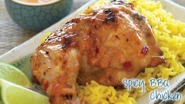 Spicy Barbequed Chicken