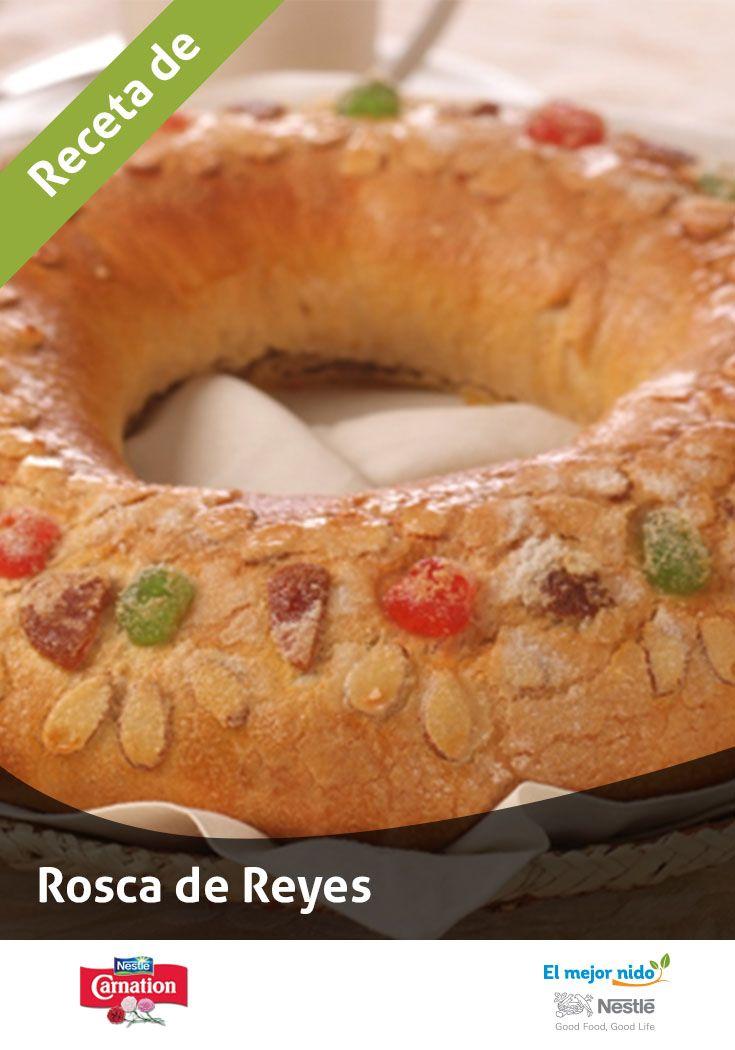 Digno de reyes. #DiaDeReyes #Recetas #RoscadeReyes