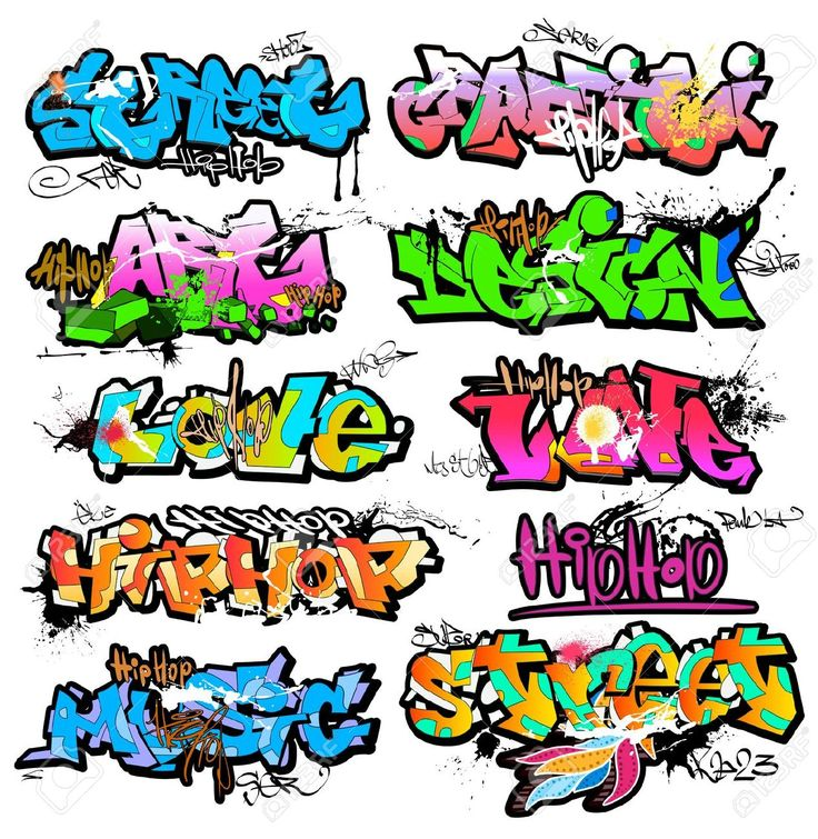 Graffiti Stock Illustrations, Cliparts And Royalty Free Graffiti ...