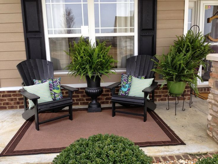 Small front porch decorating ideas for summer www for Outdoor front porch decor