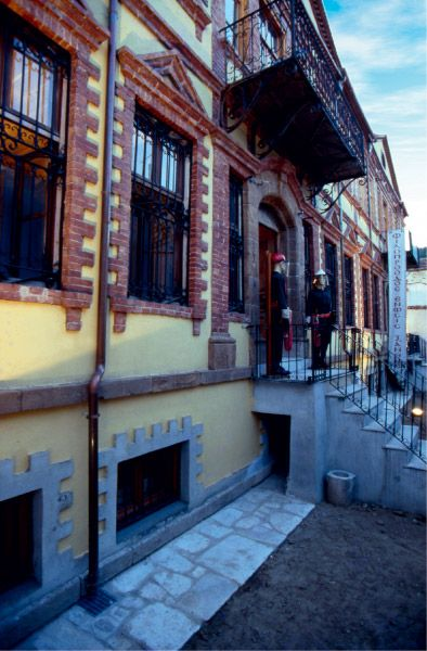 Ένα από τα πιο ενδιαφέροντα στοιχεία της Ξάνθης είναι το ιδιαίτερο αρχιτεκτονικό μείγμα της Παλιάς της Πόλης.  © Stavros Kostakis