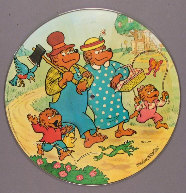 Berenstain Bears plate