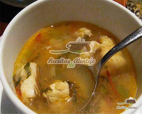Receitas do Alentejo | Sopa de Peixe do Rio | Alter do Chão