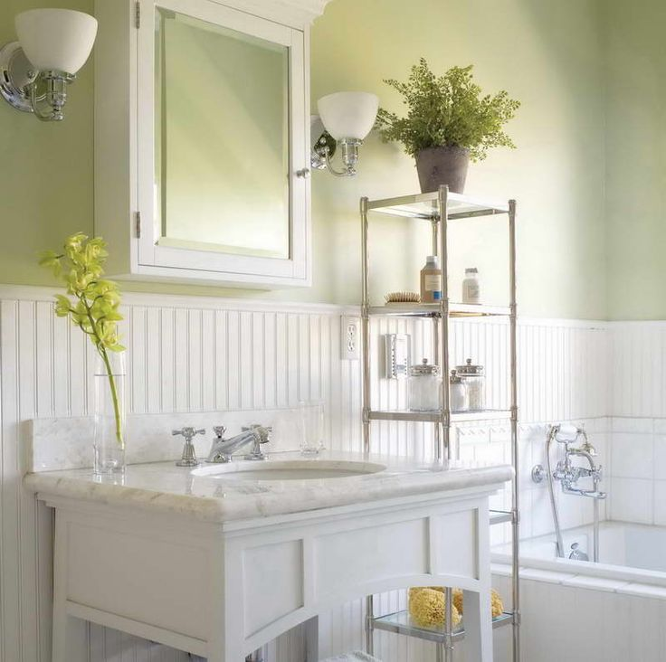 Paint Colors, Bead Board Bathroom And Vanities
