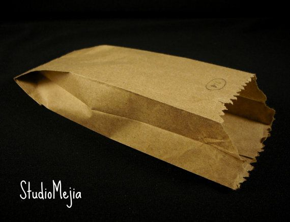 Recycled Small Brown Paper Bags by StudioMejia on Etsy, $2.60