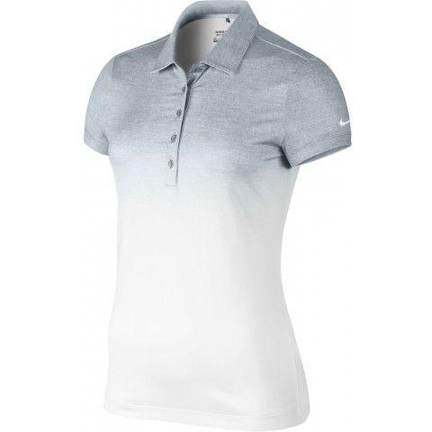 Nike Golf Womens Fade Polo Shirt Dove Grey