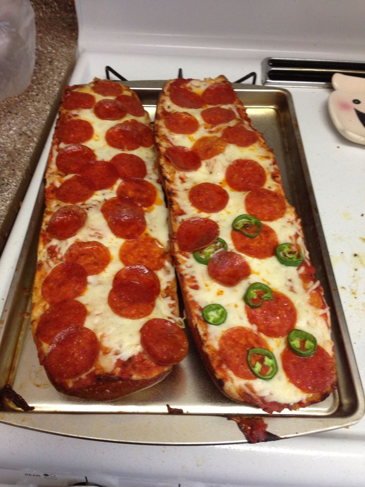 How to Make a French Bread Pizza QUICK N EASY
