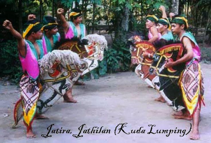 Jatiran, jathilan, Jeran Kepang atau Kuda Lumping tari khas Jawa