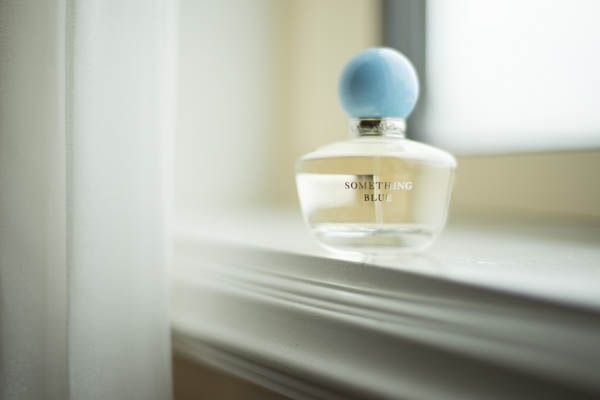 Something Blue perfume for your wedding day!